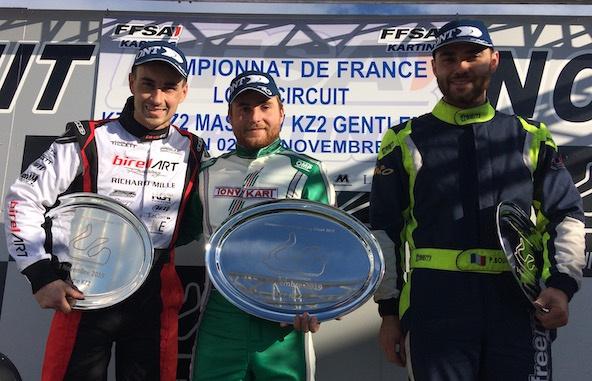 Long Circuit KZ2: Picot gagne, Bondier assure le titre
