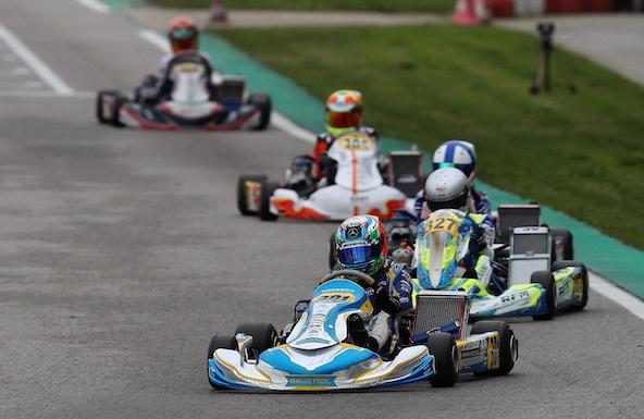 WSK Final Cup à Adria: Encore Antonelli en OK-Junior