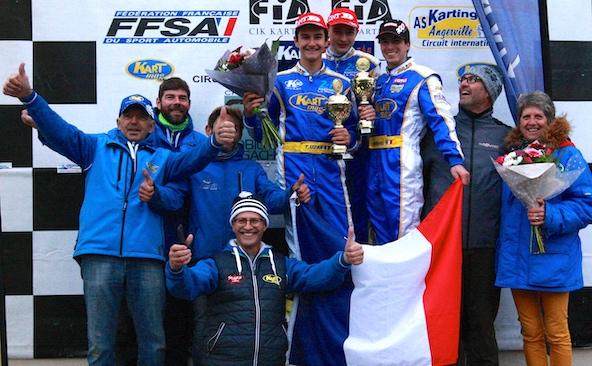 2 titres de Champion de France pour le club K50-Kartmag-1