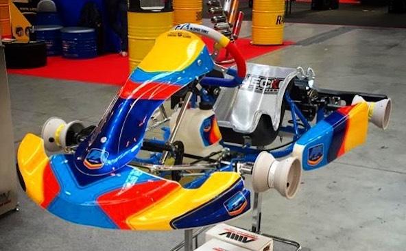 Le châssis Mini d'Alonso Kart désormais homologué par Breda Kart, proche de KR et Parolin