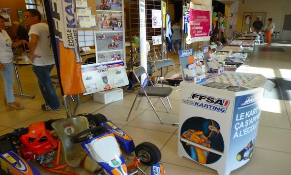 l'EFK au forum des associations à Villars