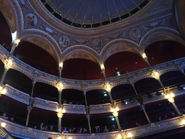 Le magnifique site du théâtre du Châtelet