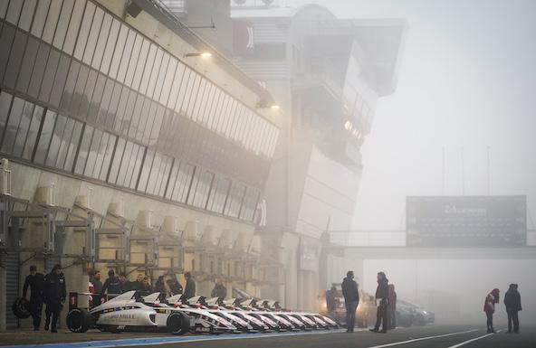 Malgré le brouillard, le Volant a toutefois pu avoir lieu au Mans.