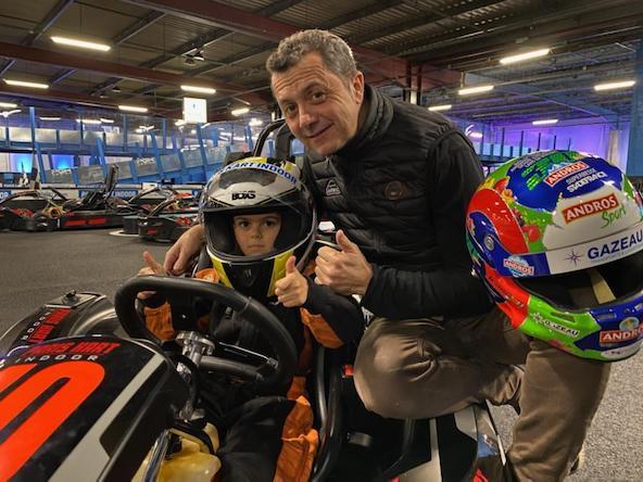 Louis Lagorce-Premiers tours de roue au PKI-1