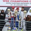 WSK Champions Cup OK: Les redoublants résistent aux jeunes
