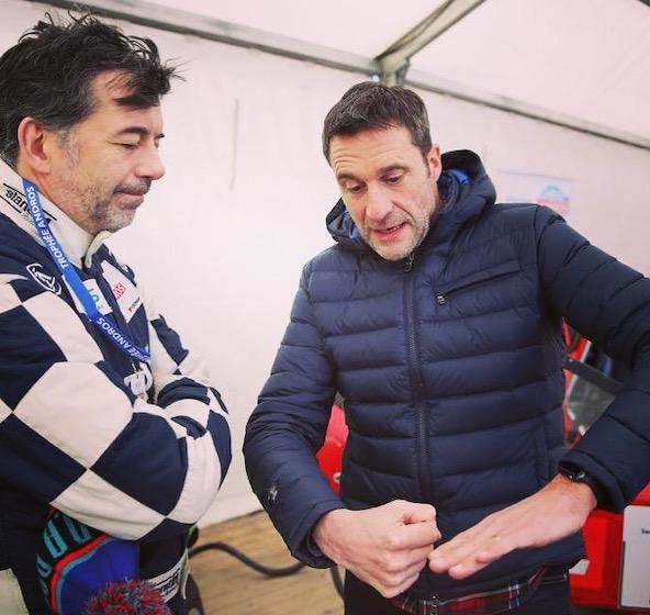 Avec Stéphane Plaza sur le Trophée Andros