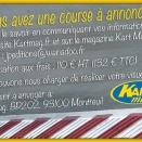 Annonces courses: Un nouveau service avec Kart Mag