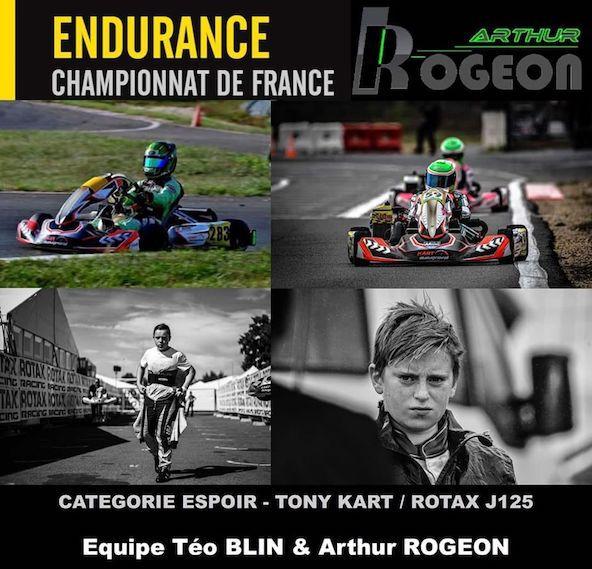 Arthur Rogeon-Teo Blin-Un beau duo d espoirs en Endurance 2020-1