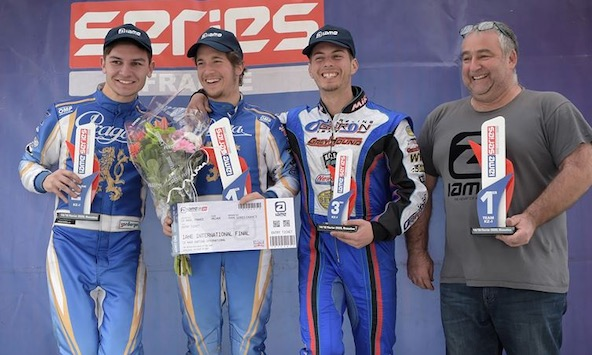 IAME Series France-2 categories a boite de vitesses a Rivesaltes-1