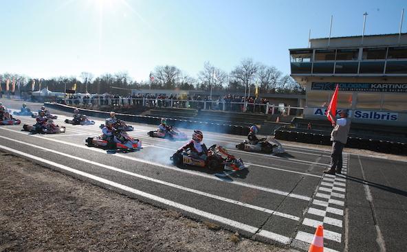L Open Kart a Salbris-Le barometre du debut de saison