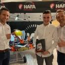 Les lubrifiants Hafa partenaires de Kilian Belhaire