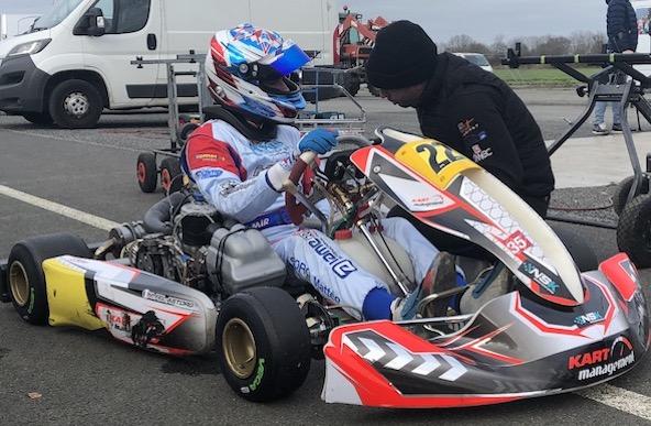 Matteo Fel-Astorg se lance en KZ en 2020 avec Kart Management