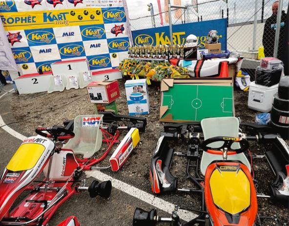 De superbes remises des prix à la Stars of Karting
