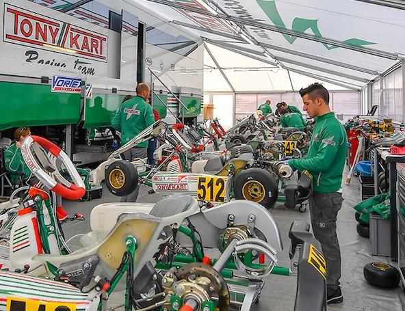Statistiques Winter Cup: Tony Kart reste majoritaire à Lonato