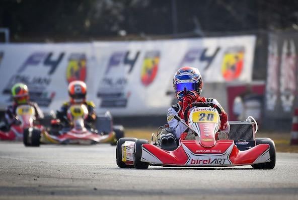 WSK-Giuseppe Palomba double la mise en KZ2 a Lonato