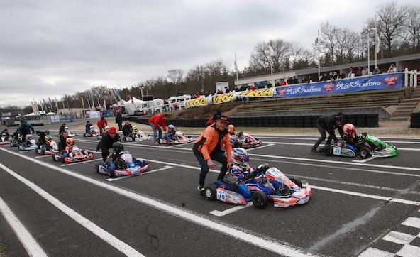 Les classements provisoires de la Stars of Karting apres Salbris