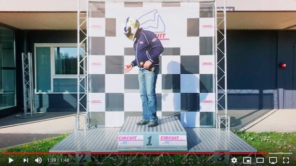 Vidéo: Tout seul au circuit de Bresse