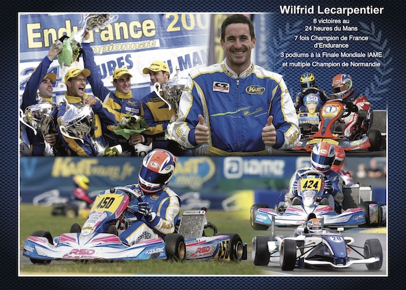 Wilfrid Lecarpentier le roi du Mans-Du Karting au Kite-Surf