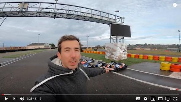 Du 4T au KZ-4 karts a l essai avec Romain Monti a Laval