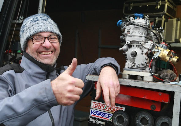 Olivier Bruneau, l'année du titre en Endurance GP2 avec un moteur X30