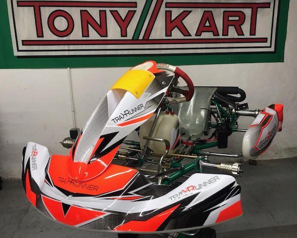 La reprise sera marquée par l'arrivée d'un nouveau kit déco chez Kart Runner.