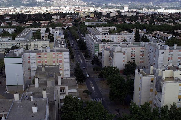 Le quartier Fontbarlettes à Valence
