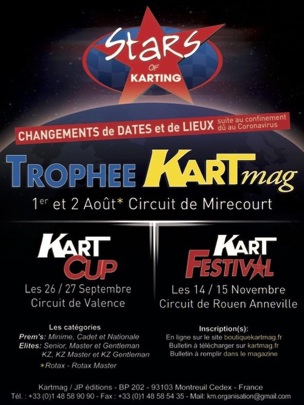 Le Trophee Kart Mag assure la reprise debut aout