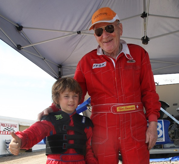 Ici à Soucy en 2011 au Trophée Kart Mag