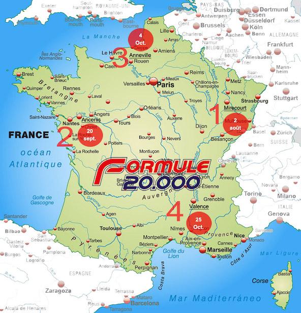 Decouvrez le nouveau calendrier 2020 de la Formule 20000-1
