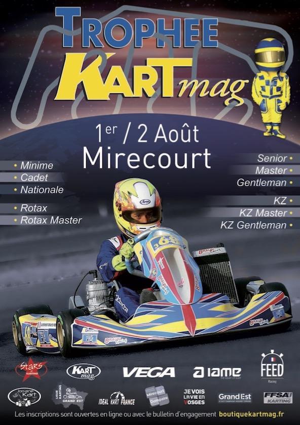 Pour ses 20 ans le Trophee Kart Mag accelere la relance du karting francais