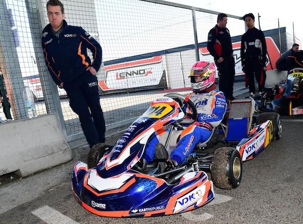 Florian Rousseau-Ricci, ici en début de saison à Lonato