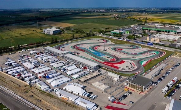 Live WSK a Adria-Enfin la reprise a l international