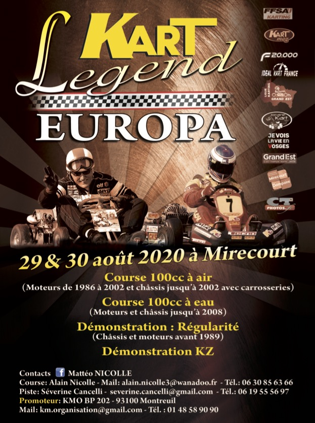 Mirecourt-Kart Legend et Europa Vintage font cause commune