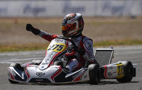 OK Zuera: Le team Lennox Racing-Charles Leclerc enfonce le clou !