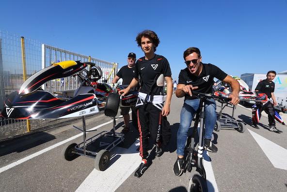 Le nouveau team de Nicolas Martins, le frère du Champion du Monde Victor Martins, est en place