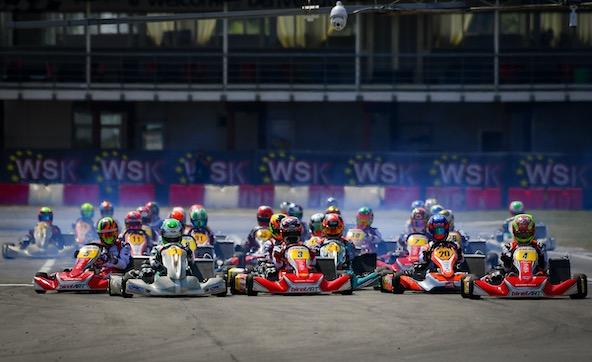 WSK Euro Series KZ2 1-3 a Sarno-Cavalier seul de Longhi-2