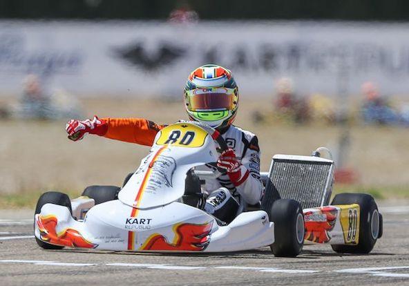 Zuera: Ippolito gagne en KZ2, pas de surprises en Junior et Mini