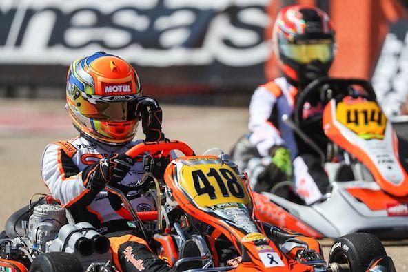 Paolo Ippolito, 1er en KZ2