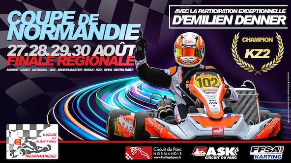 Coupe de Normandie ce week-end avec Emilien Denner