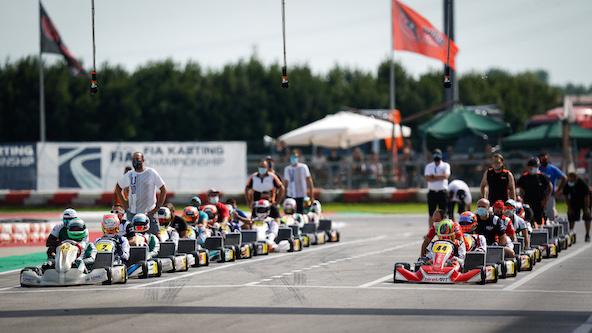 FIA Karting KZ, KZ2 et Académie: Retour sur l'Euro à Adria