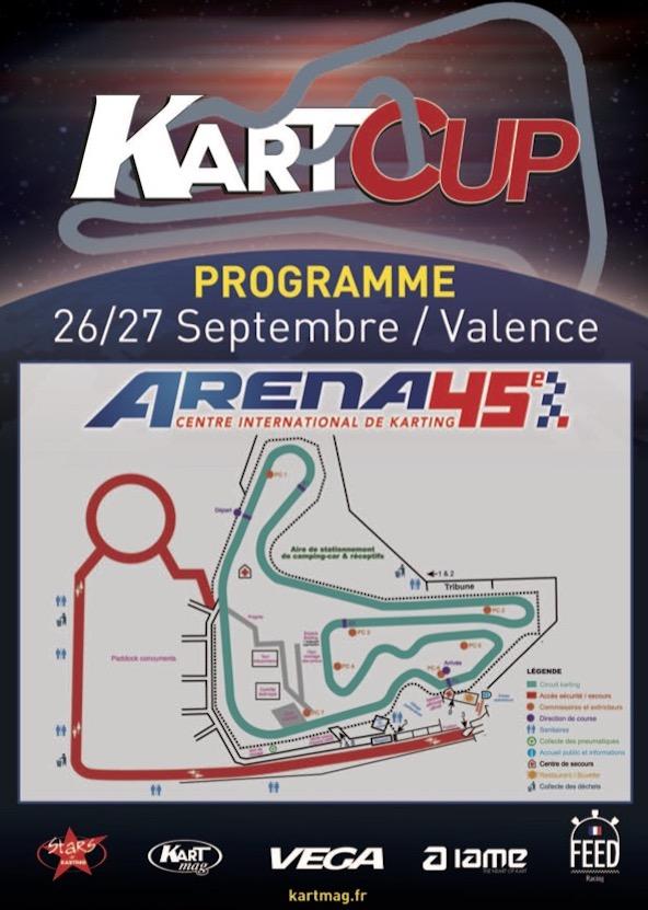 Kart Cup a Valence Arena 45-Le programme est en ligne-1