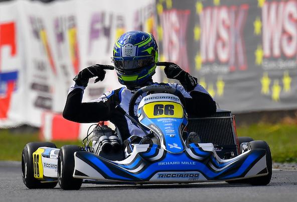 Marijn Kremers gagne en KZ2