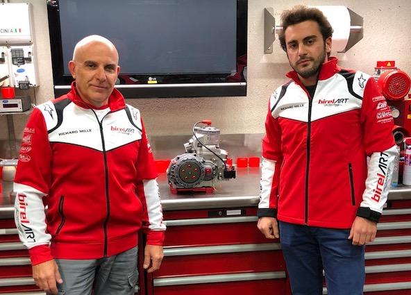 Alessio Piccini integre l equipe officielle Birel ART Racing Team