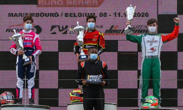 IAME Euro Series-Enzo Leveque vice-Champion en X30 Senior-1