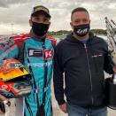 Pari international gagné en KZ et OK-Junior pour Cédric Sport Motors