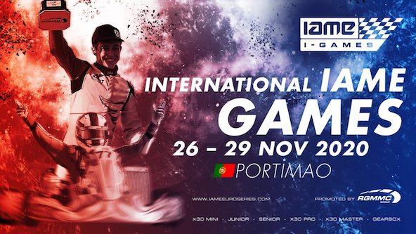 Plusieurs Francais annonces aux IAME Games a Portimao