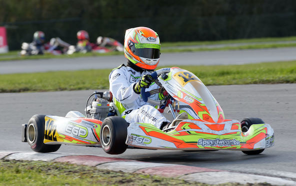 Yani Stevenheydens, champion X30 Junior