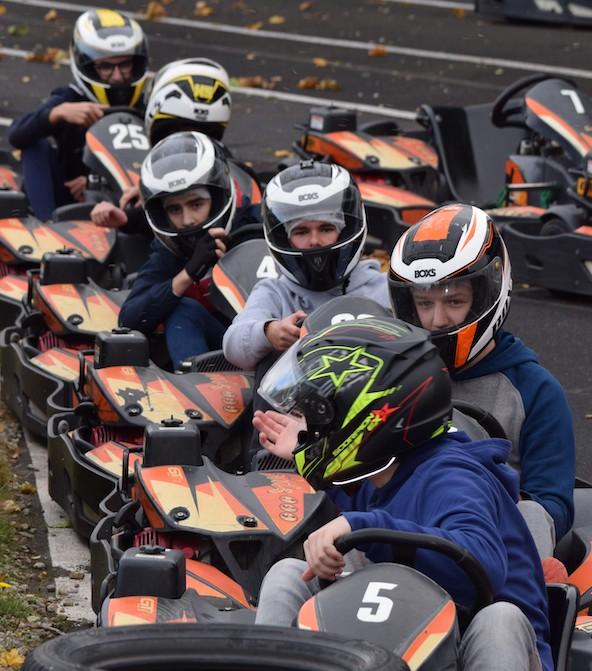 Selection Les lycees dans la course au Karting du Lissartel a Pers-3