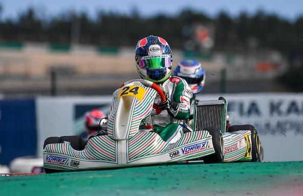 Pedro Hiltbrand, 3e en OK