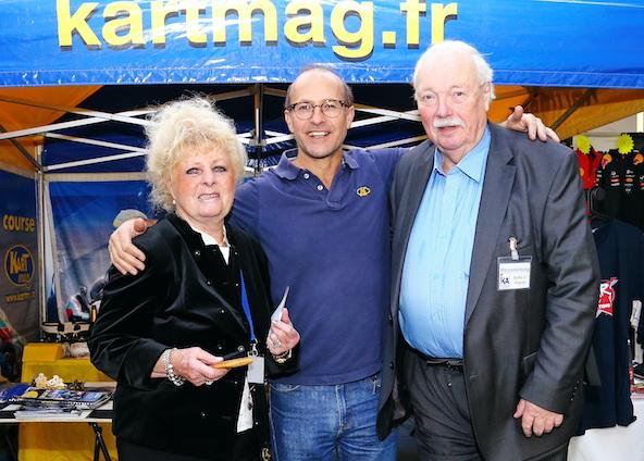 Botho Wagner avec sa femme et Jacky Foulatier